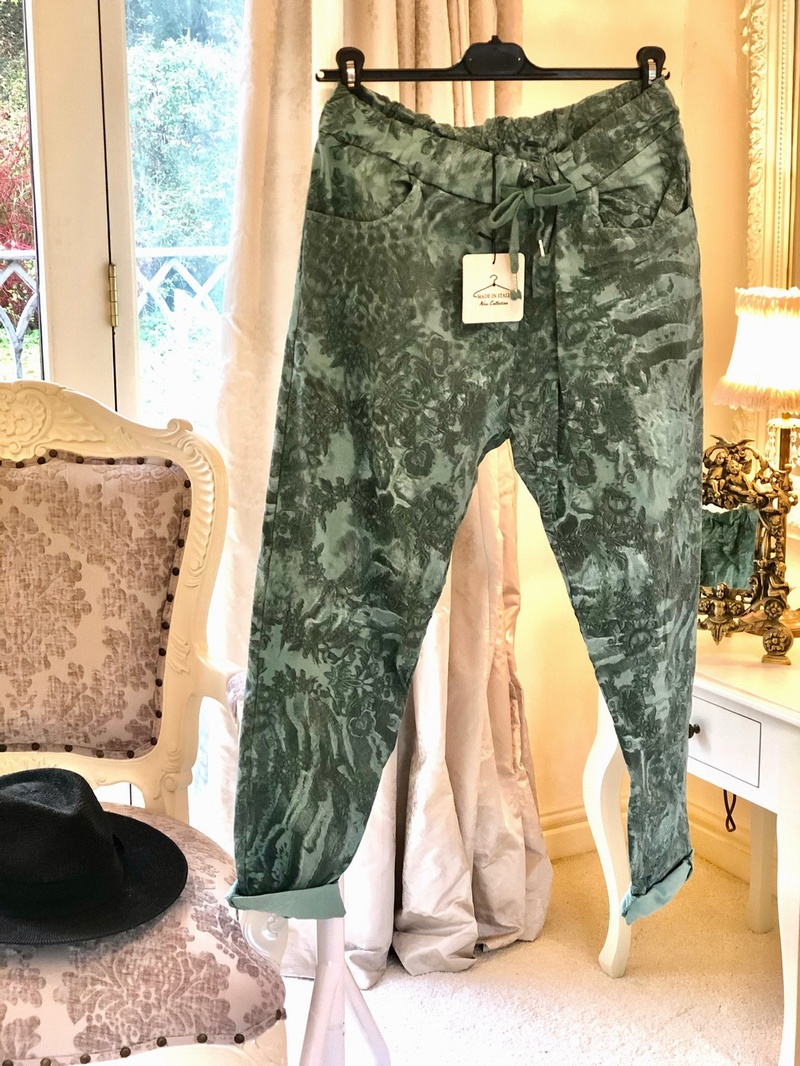 Beautiful Design Magic 4 Way Stretch Trouser Tiffany