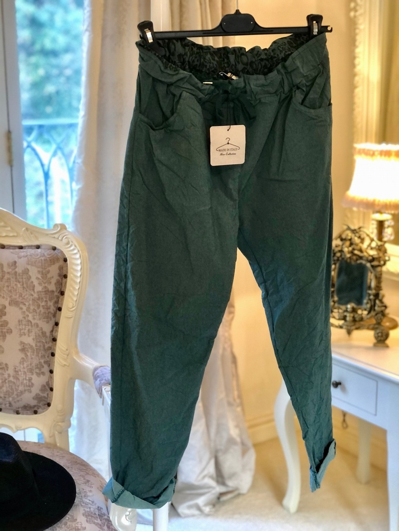 Magic 4 Way Stretch Trouser Tiffany