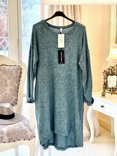 Relax knitted Tunic Dress Tiffany