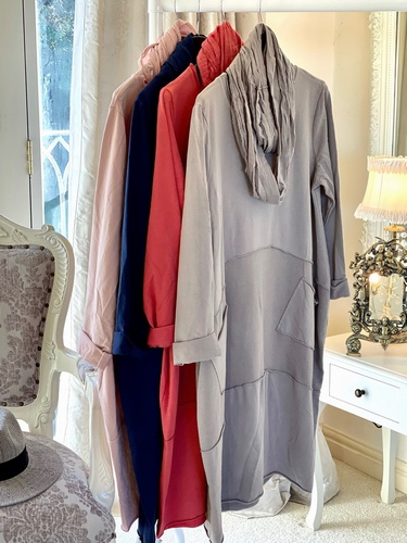 New Season Scarf Tunic Cinnamon