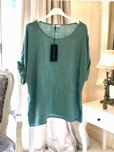 Cheesecloth T Shirt Tiffany