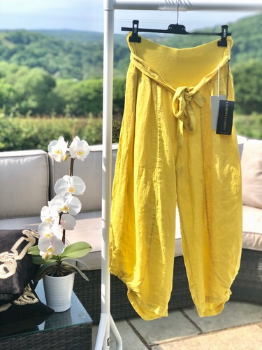 Hitch Trouser Spice yellow