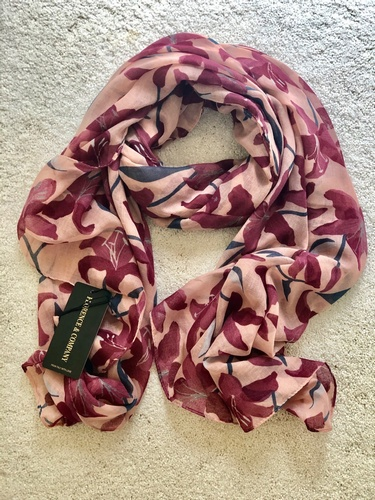 Lily Scarf Soft Maroon