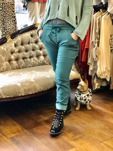 Magic Trouser 4 Way Stretch Teal