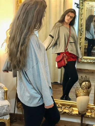 Zip Sweatshirt Grey